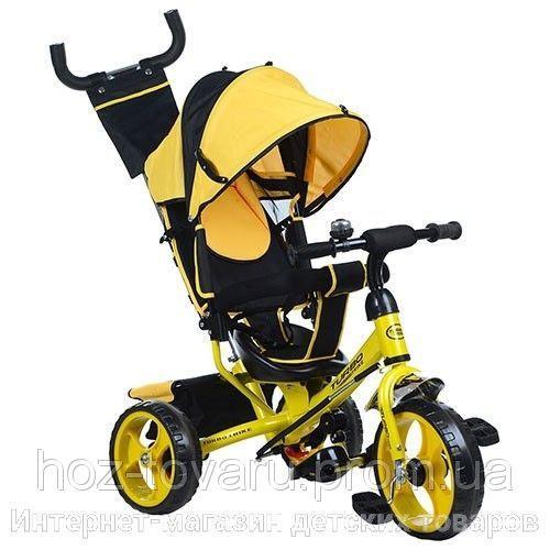 Детский трехколесный велосипед Turbo Trike M 3113, колеса EVA (3 цвета)