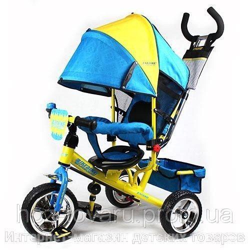 Детский трехколесный велосипед Turbo Trike M5363UKR, колеса EVA (2 цвета)