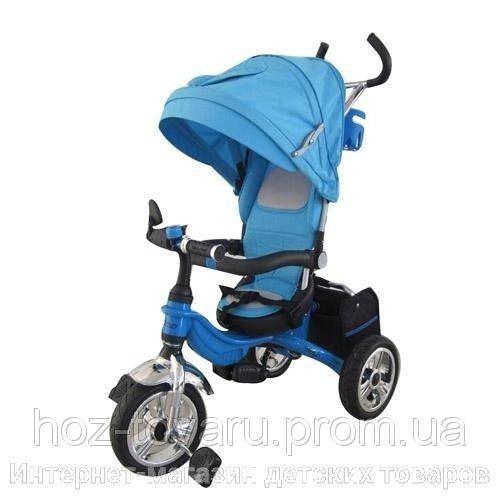 Детский трехколесный велосипед М 2732А надувные колеса (2 цвета)