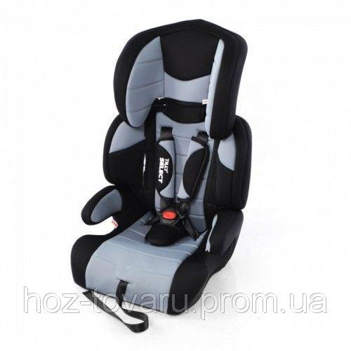 Детское автокресло TILLY Select BT-CCS-0004, серое, от 9 до 36кг