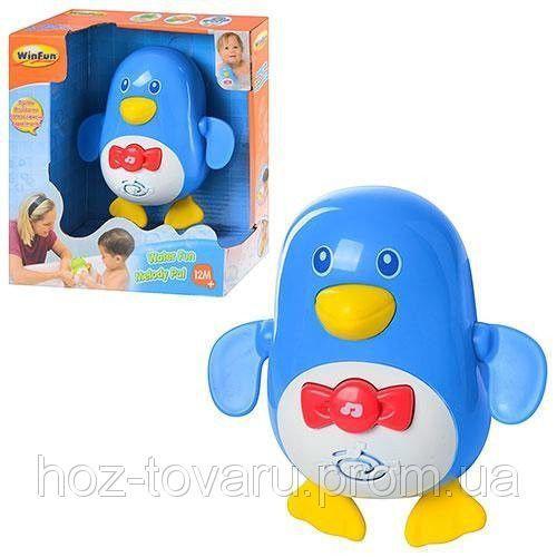 Заводная игрушка для ванной Пингвин WinFun 7120 NL