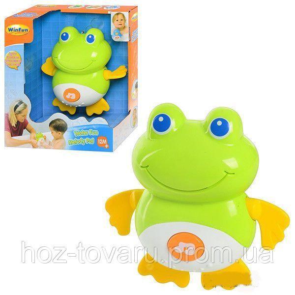 Заводная игрушка для ванной Лягушка WinFun 7100 NL