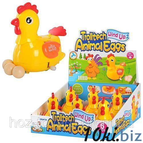 Заводная игрушка Курица несет яйца 12 см 6 штук Lovely Toys 289-1 купить в Харькове - Музыкальные игрушки