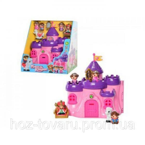 Замок 32902 принцессы, фигурки 5 шт, в кор-ке, 36-34-23см