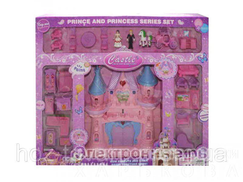 Замок 666-581 - Домики, ванночки, аксессуары для кукол и пупсов на рынке Барабашова