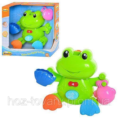 Игрушка для купания Лягушка WinFun 7109