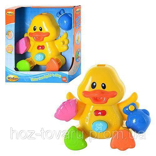 Игрушка для купания Утка WinFun 7108 NL