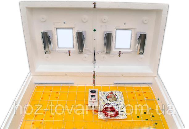 "Инкубатор для яиц ""Рябушка 2"" на 70 яиц с автоматическим переворотом (цифровой терморегулятор)"
