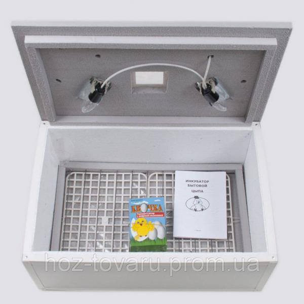 """Инкубатор для яиц """"Цыпа"""" ИБМ -100 (пластиковый корпус) с механическим переворотом (ручной терморегулятор)"""