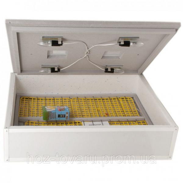"""Инкубатор для яиц """"Цыпа"""" ИБМ-140 (пластиковый корпус) с механическим переворотом (ручной терморегулятор)"""