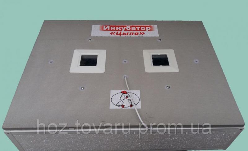 """Инкубатор для яиц """"Цыпа"""" ИБР-140Ц (Пластиковый корпус) с ручным переворотом (Цифровой терморегулятор)"""