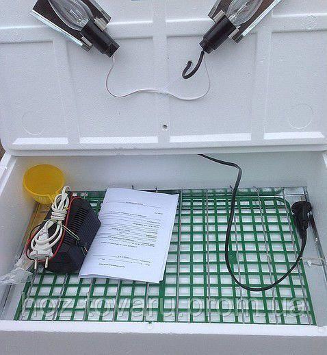 Инкубатор для яиц Наседка ИБМ-70 с механическим переворотом (ручной терморегулятор)
