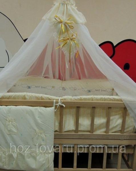 Комплект детского постельного белья Bonna Мишки Дети персиковый