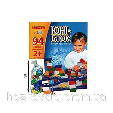 Конструктор детский Юни-блок 0125 Юника ?94 дет.