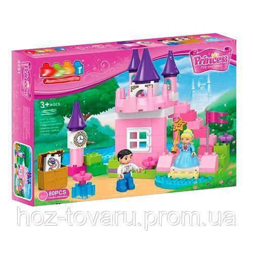 Конструктор замок принцессы JDLT 5251