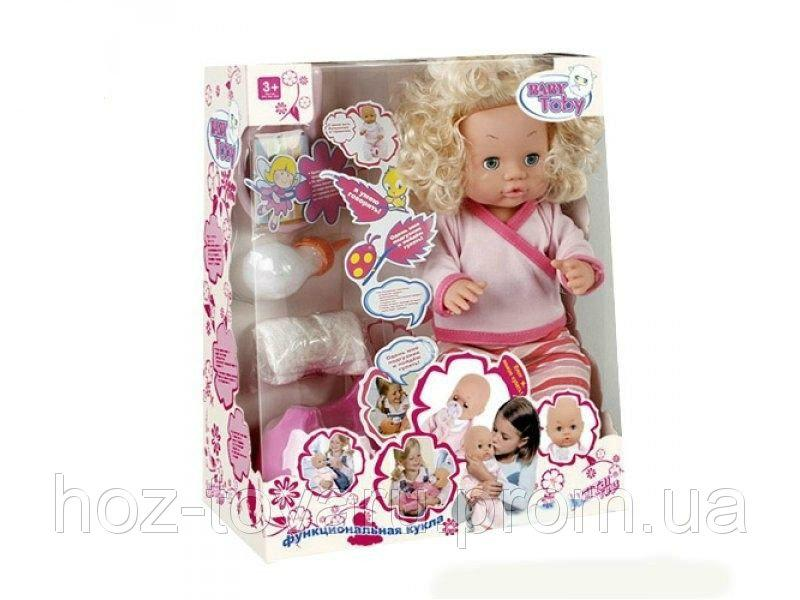 """Кукла """"Baby Toby"""" с горшком и аксессуарами 30666-5 B"""