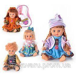 Кукла АЛИНА 5070/79/77/5142 JT муз, звук(рус), 4 вида, в рюкзаке, 21-16-11см