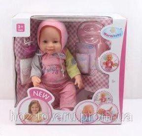 Кукла-пупс Baby Born (копия), спортивный костюм, полный к-т. BB 8009-445A
