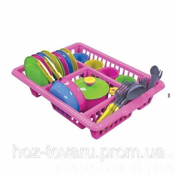 Кухонний набір 5 Технок 3282 - Игрушечная посудка на рынке Барабашова