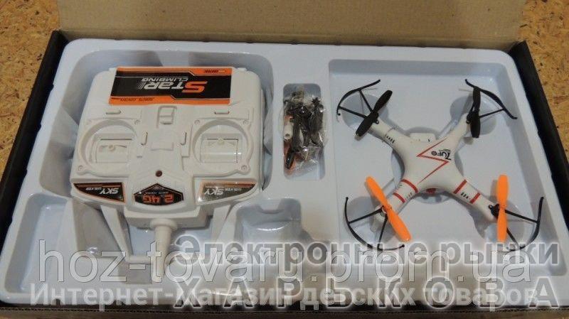 Летающий квадракоптер на радиоуправлении S-046G - Квадрокоптеры, гексакоптеры на рынке Барабашова
