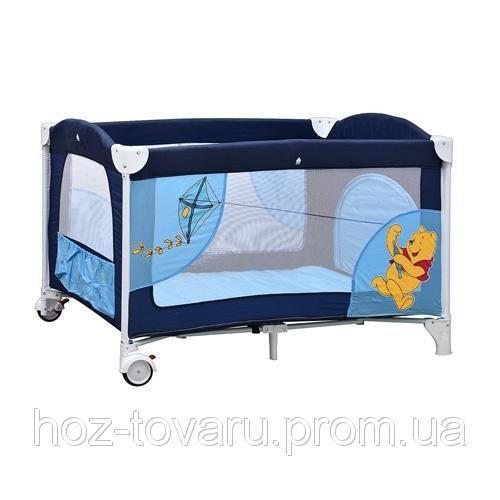 Манеж - кровать Bambi A-03 Винни-Пух (3 цвета)
