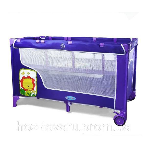 Манеж-кровать BT-016-SLC Purple