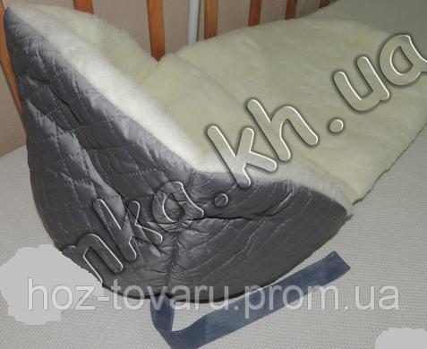 Меховое одеяло-подстилка в санки на овчине (Разные цвета)