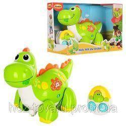 Музыкальная игрушка на радиоуправлении Динозавр WinFun 1141-NL