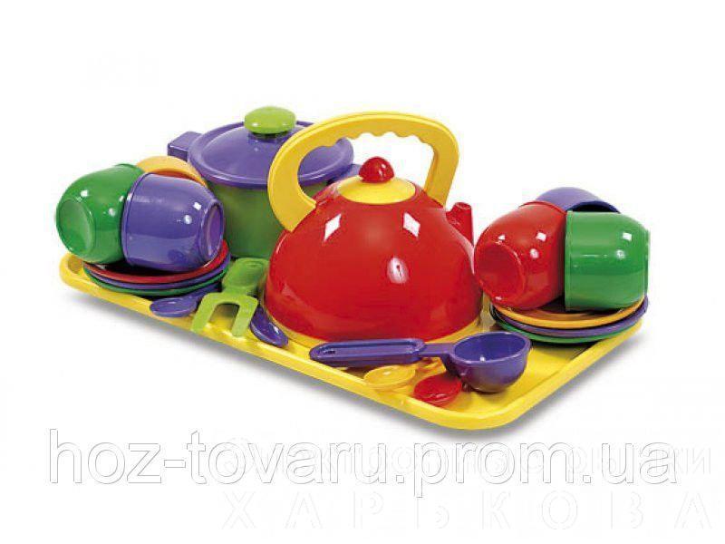Набір посуду 23 предмета Юніка 0309 - Игрушечная посудка на рынке Барабашова