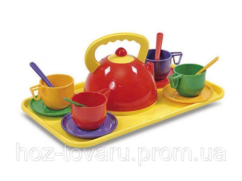 Набір посуду з підносом Юніка 0286
