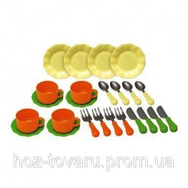 Набор игрушечной посуды 24 предмета Red Box 22745