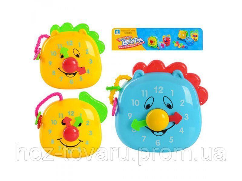 Обучающие Часы 2 вида Baby Toys 4368
