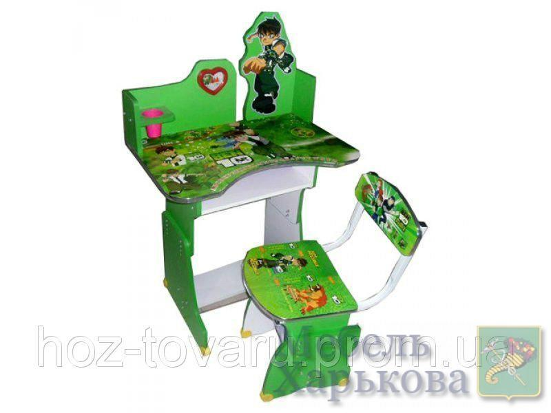Парта растишка Bambi 501 Ben10 регулируемая - Парты детские в Харькове