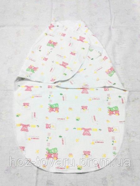 Пеленка-кокон на липучках для новорожденных