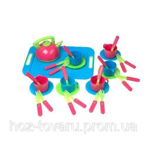 Посуда с подносом Kinder Way 04-421