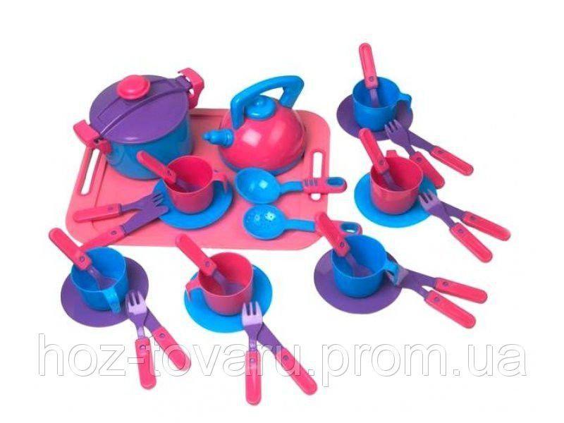 Посуда с подносом Kinder Way 04-424