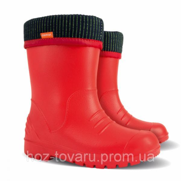 Резиновые сапоги DEMAR DINO b (красные)
