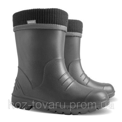 Резиновые сапоги DEMAR DINO i (черные)