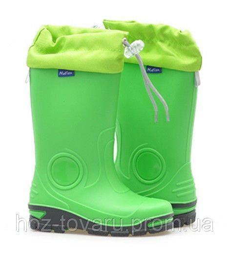 Резиновые сапоги Muflon 33-487 (зеленые) 33-34