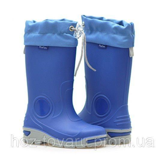 Резиновые сапоги Muflon 33-487 (синие) 31-32