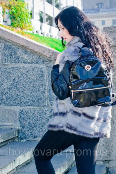 Рюкзак женский UPS G008 лаковый
