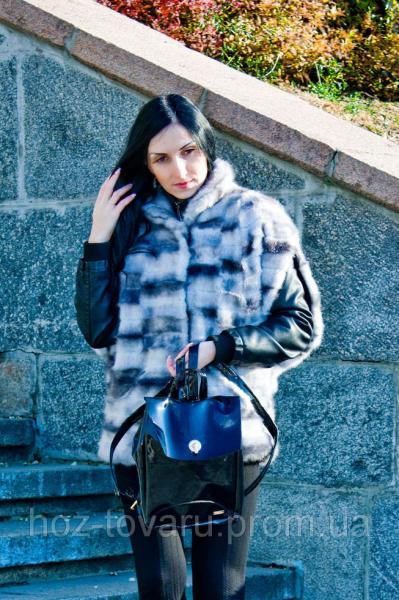 Рюкзак женский UPS G009 лаковый