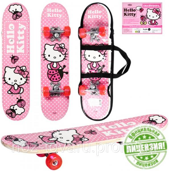 Скейт Hello Kitty HK 0052 (60-15см)