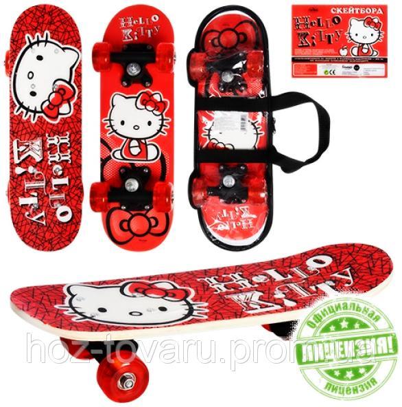 Скейт Hello Kitty HK 0053 Красный