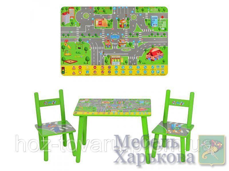 Столик и 2 стульчика Bambi M 2102