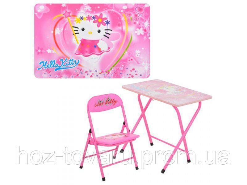 Столик со стульчиком складной HELLO KITTY DT 18-11