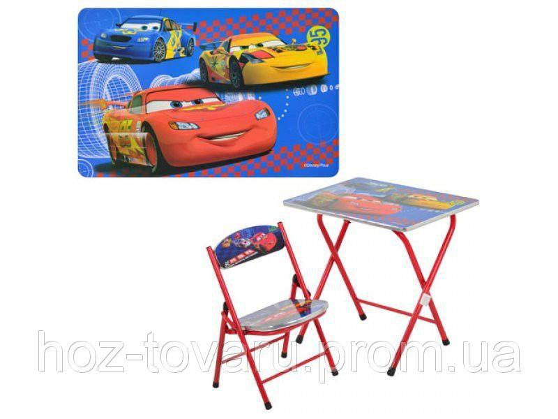 """Столик складной со стульчиком Bambi """"Тачки"""" DT 19-11"""