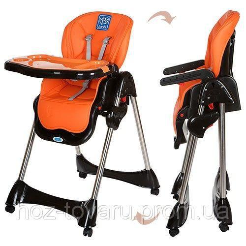 Стульчик для кормления Bambi 3216-7 оранжевый