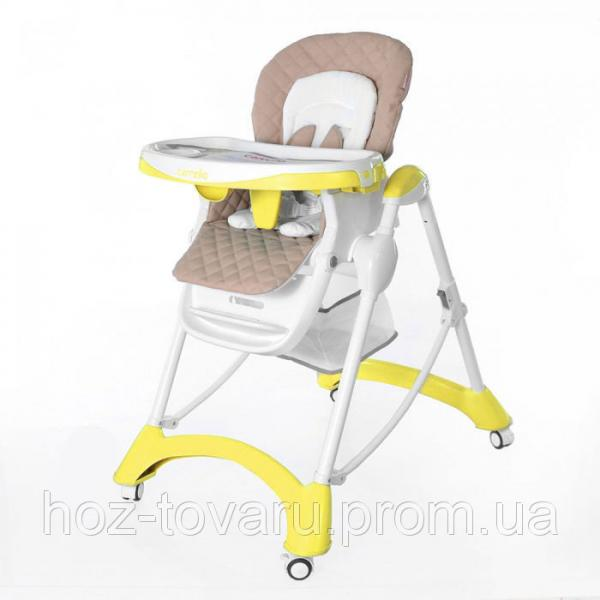 Стульчик для кормления CARRELLO Caramel CRL-9501 Yellow
