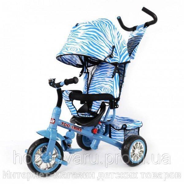 Трёхколёсный велосипед Tilly Зебра BT-CT-0005